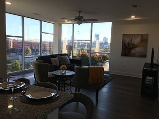 Luxurious Downtown Top Floor Condo- 2 Bed/2 Bth. #400