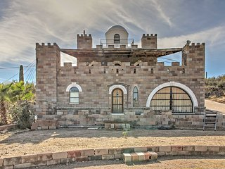 NEW! 'Mollohan Castle' Legendary 4BR Tucson Castle