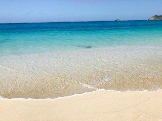 BLUE  PARADISE  Magnifique  vue a 180o  les pieds dans l'eau