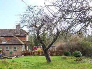 GODRICS HOLLOW, character, rural setting, three bedrooms, woodburner and open