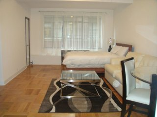 Midtown Studio Sleeps 4 in an elevator building near United Nations