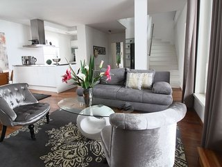 Central Penthouse apartment in 01. InnereStadt with WiFi, airconditioning