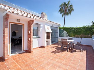 Comfortable semi detached house with private garden and terrace close to beach