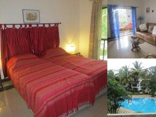 54) Private 1 Bedroom Apartment La Goa Azul Resort, Arpora
