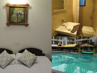 51) Private Apartment in Alor Grande Resort Candolim + WiFi