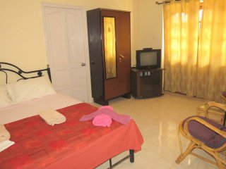 38- Serviced Studio Apartment Central Calangute & Free WiFi