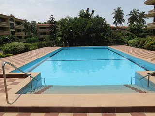 25- Quality 2 Bedroom Serviced Apartment Regal Park Candolim & Free WiFi