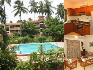 26) Quality 2 Bedroom Apartment, Regal Park, Candolim, Fibre Optic WiFi
