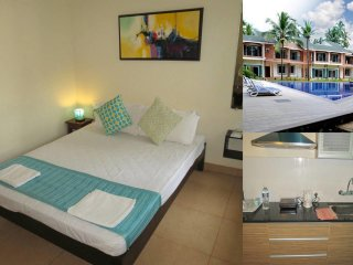11)  Modern Furnished 1 Bedroom Apartment, Arpora Sleeps 3