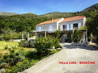 VILLA LINA DUBROVNIK - Stone house with sea view and bautiful flower garden