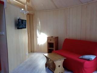 Chalet rond type yourte