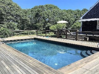 Summer retreat on Edgartown Great Pond with Pool.