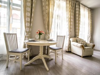 Charming Charles Bridge suite