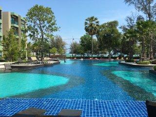 Lumpini park beach Cha-am Phetchaburi, Thailand