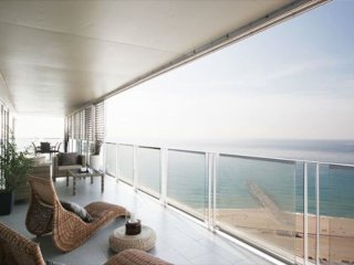 Luxury flat terrace and sea views