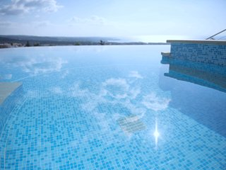 The Mediterranean Suite...fabulous views, infinity pool and jacuzzi!