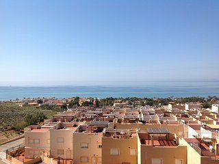 La Azohia - a modern apartment with stunning views over the Bay of Mazarron.