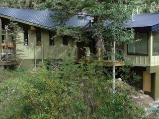 Chalet Rio Hondo a large vacation rental cabin at Taos Ski Valley, New Mexico
