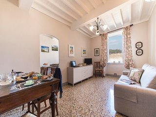 Sophisticated 1bdr in the center of Pienza, near Siena