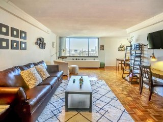 Spacious, modern condo with private balcony and shared pool!, Boston