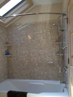 2nd floor full bath shower