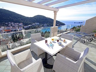 Apartment Simply The Best-Three Bedroom Apartment with Terrace and Sea View, Dubrovnik