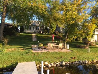 Family retreat on tranquil Waubeesee Lake in Southeastern Wisconsin