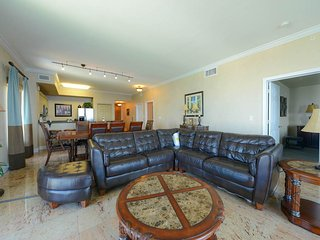 Large Vacation Home with Gulfside Balcony at Tidewater Beach Condos