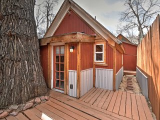 NEW! 1BR Manitou Springs Cabin on the River!