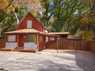 NEW! 2BR Manitou Springs House w/ Riverside Deck!
