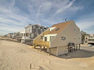 Oceanfront Long Beach Township House w/Pvt Beach!