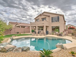 NEW! 4BR Mesa Home w/ Backyard Oasis & Pool!