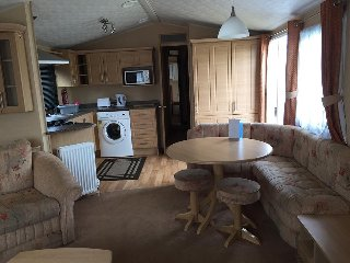 3 Bed Deluxe Static Caravan, Haven Seashore, Spacious Family getaway, Jasmine 23