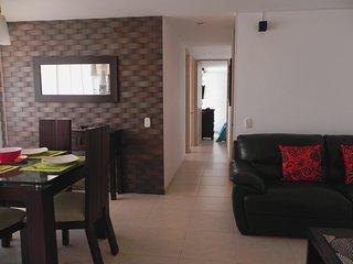 Hermoso Apartamento con vista a la ciudad, 3 Habitaciones