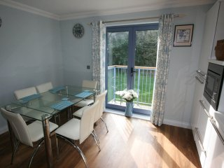 Dining area and first floor balcony