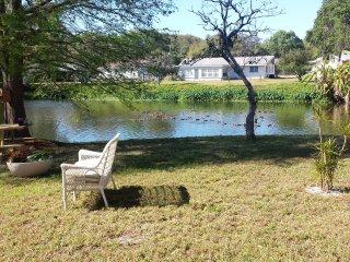 Sarasota Home With Lake View !