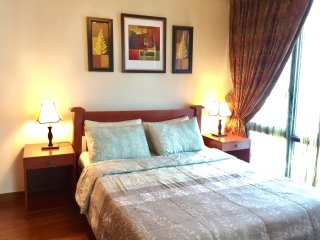 Modern Oriental 2 Bedroom Suite in Eastwood City