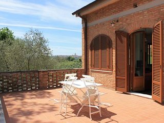 VILLA BELVEDERE - Apartment  with Splendid View at the doors of Siena