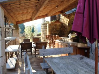 La Gentilhommiere (4 adultes & 2 enfants) - pool house & spa prive