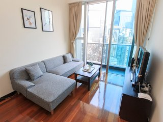 Luxurious two bedroom apartment with rooftop pool, 2 minutes from Wan Chai, Hong Kong