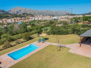 Villa with private pool walking distance to Pollensa old town