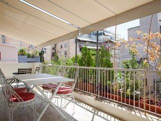 3 comfortable apts, balconies, great location!