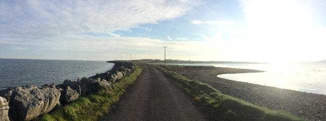 Causeway over to Aughinish (0.8kms)