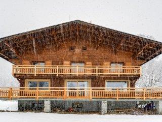 Vaste et chaleureux chalet vue Mont-Blanc à Chamon, Chamonix
