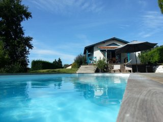 Cottage avec piscine sur la route des vignobles