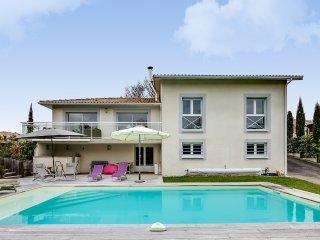 Paisible villa avec piscine près du Pyla
