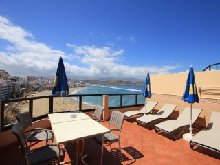 Apartment with best view of Las Canteras, Las Palmas de GC.