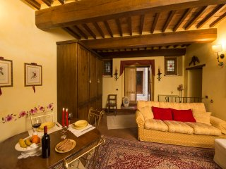 Luxurious and scenic 2bdr in the heart of Val d'Orcia