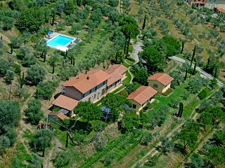 Charming Villa Betulla in the peaceful countryside in Terontola