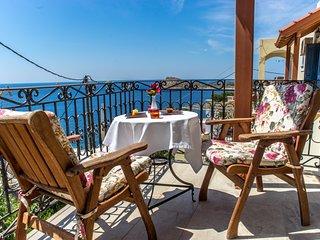 Myrties,romantic two spaces honeymoon with amazing seaview/sunset